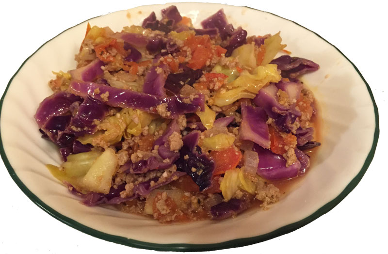 Healthy Cabbage Roll Casserole - If Tom Can Do It You Can Do It
