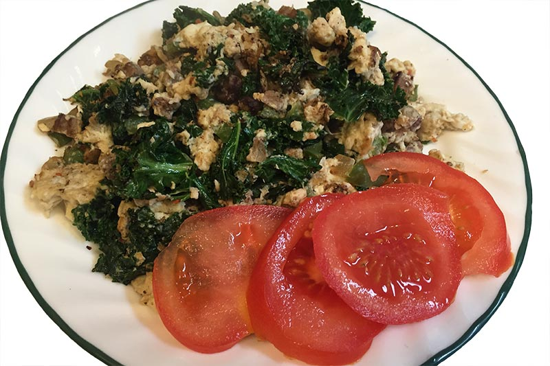 Quick Kale and Eggs Breakfast - If Tom Can Do It You Can Do It